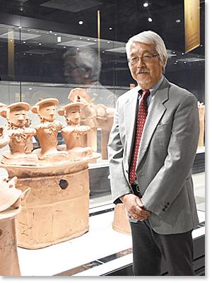 群馬県立歴史博物館館長 右島 和夫 さん