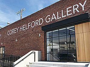 6度目の個展を開催した画廊コーリーヘルフォード=ロサンゼルス