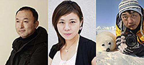 審査員の福田健太郎さん(左)、若子jetさん(中) 小原玲さん(右)