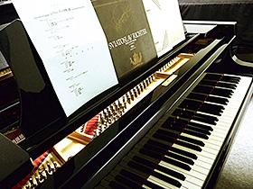 「リヒテル・ピアノ」と94年2月に開かれたリヒテル来日公演パンフレット=高崎文化会館