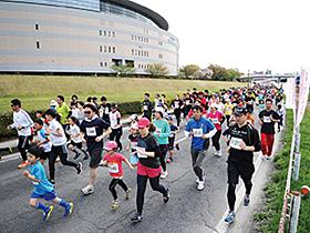 「前橋・渋川シティマラソン」の参加者