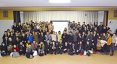 先月、富岡市で開催した「リノベーションまちづくり」キックオフイベントの様子