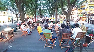 今夏、仙台市で行われたイベント「3rd LIVING at JOZENJI PARK」の様子