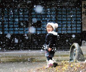 名残りの雪